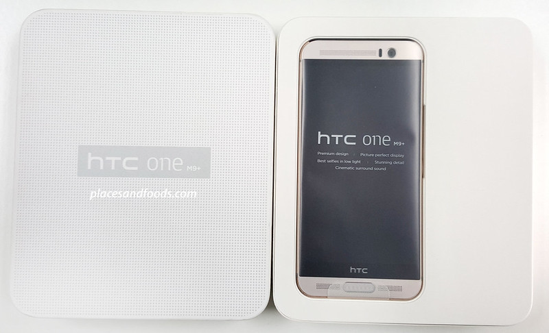 htc one m9+ unbox inside