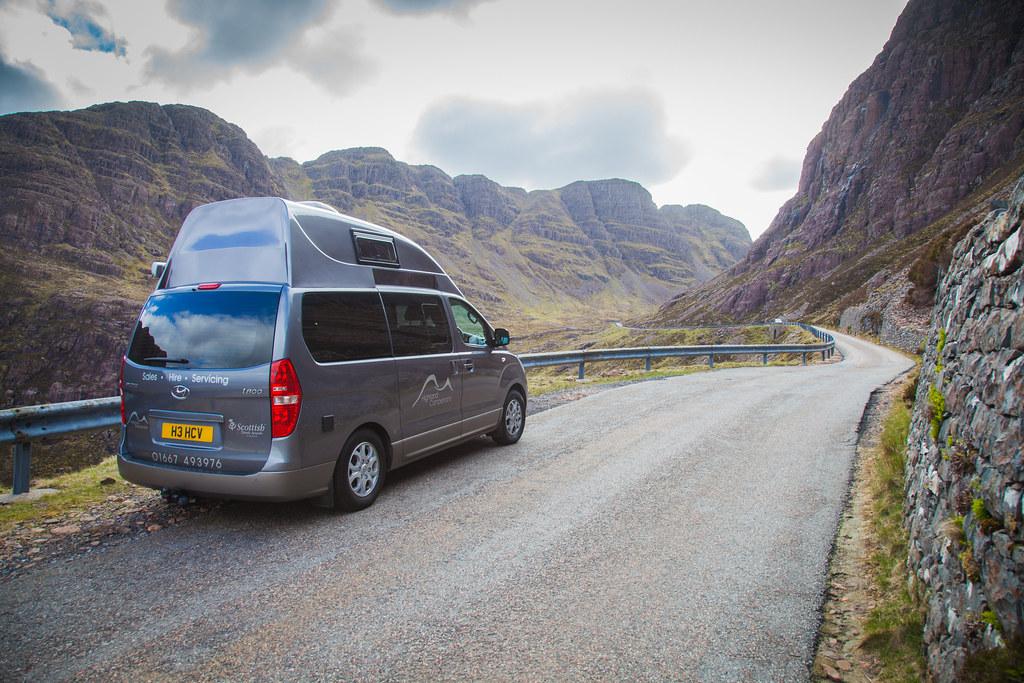 Camper van Scotland