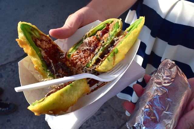 Stuffed Fried Jalapeno from the Jogasaki Burrito Truck, Los Angeles