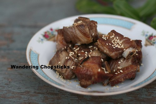 Chinese Deep-Fried Pork Ribs with Honey Vinegar Sauce 1