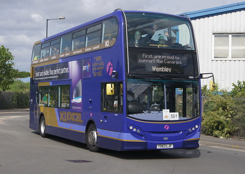 First Eastern Counties 33803 YX63 LJF (c) David Bell