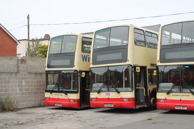 Plymouth Citybus Incoming