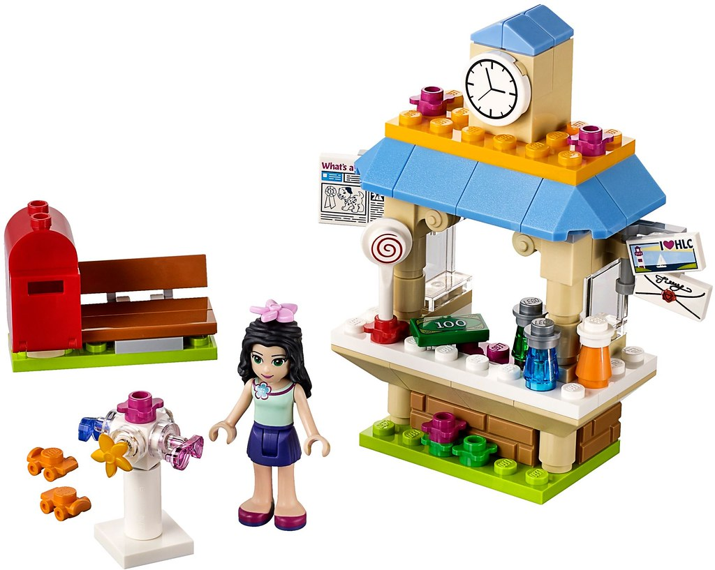 Lego Friends Emma S Letters