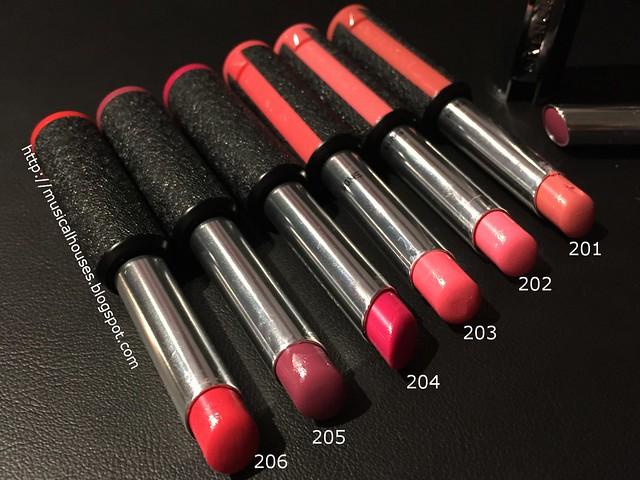 Givenchy Le Rouge A Porter Lipsticks Les Roses