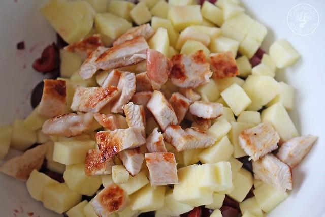Ensalada de pavo, manzana y cerezas (6)