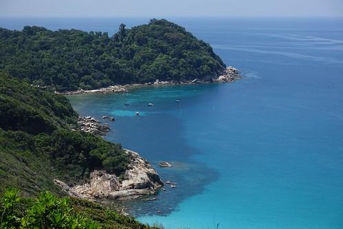 Pointe nord de l'île