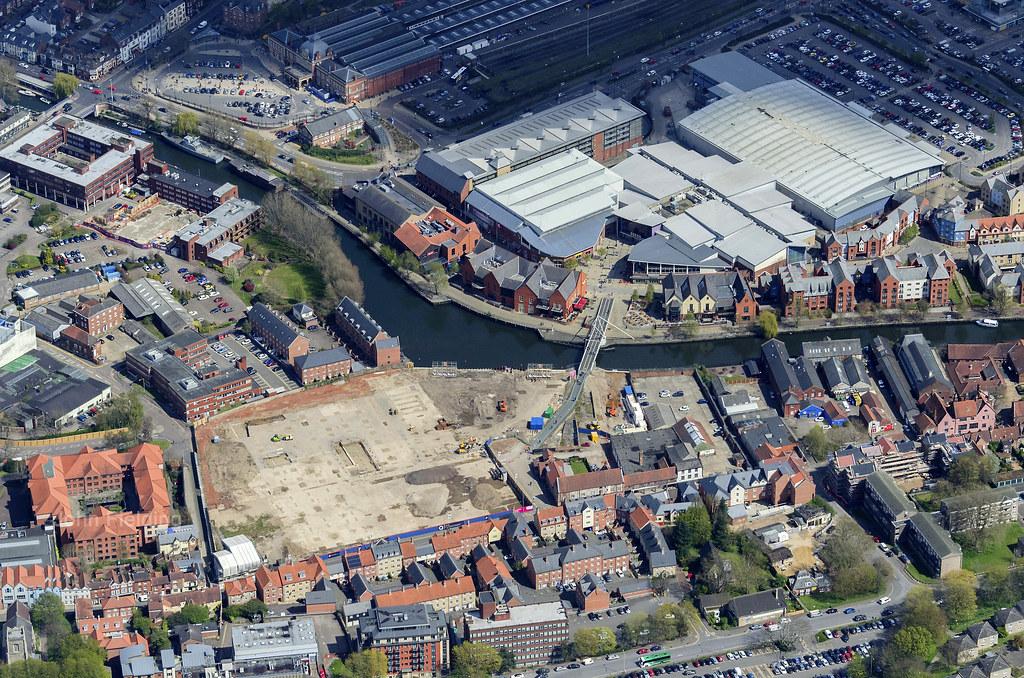 Norwich Riverside Aerial April 2016 John Fielding Flickr