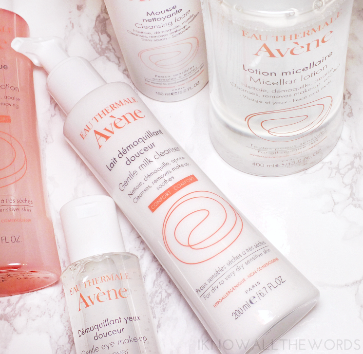 avene milk cleanser