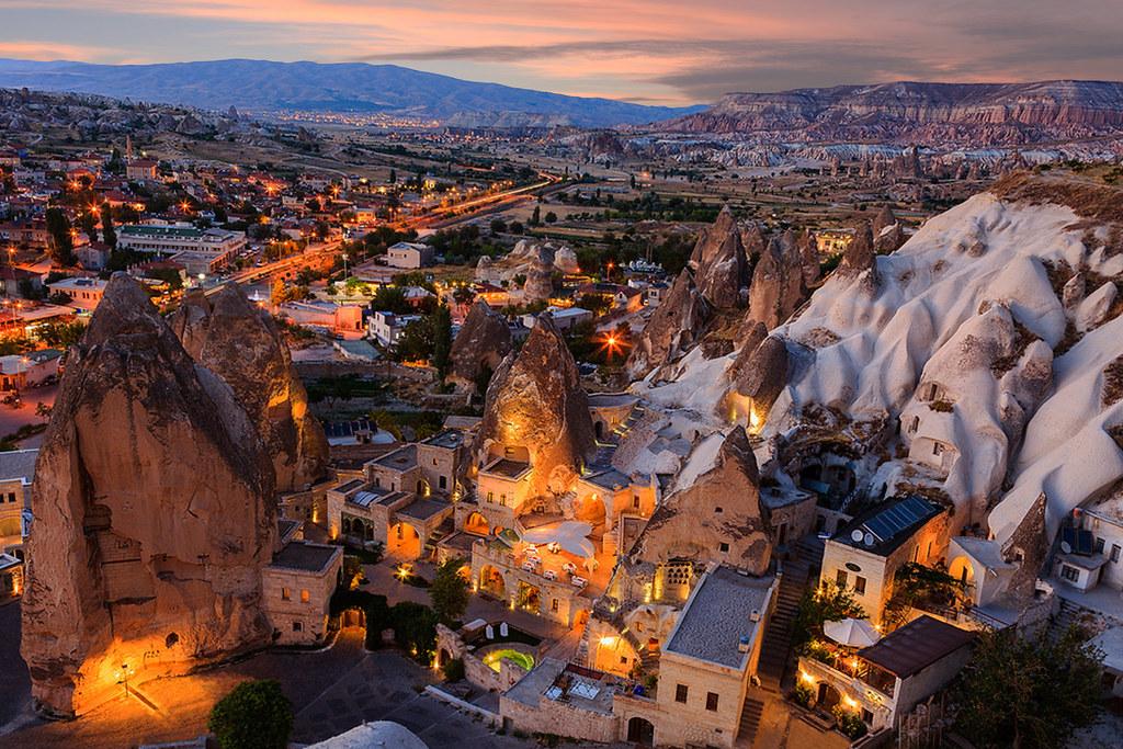 Göreme, Kapadokya  Göreme Akşamı, Kapadokya, Nevşehir / Tür…  Flickr