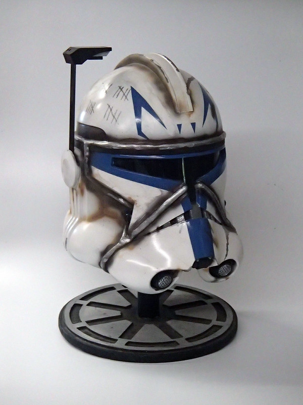 Captain Rex Helmet Finished 7