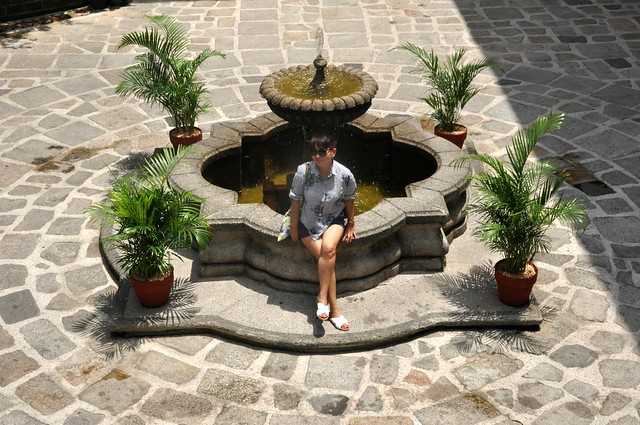The Courtyard at Plaza San Luis, Intramuros