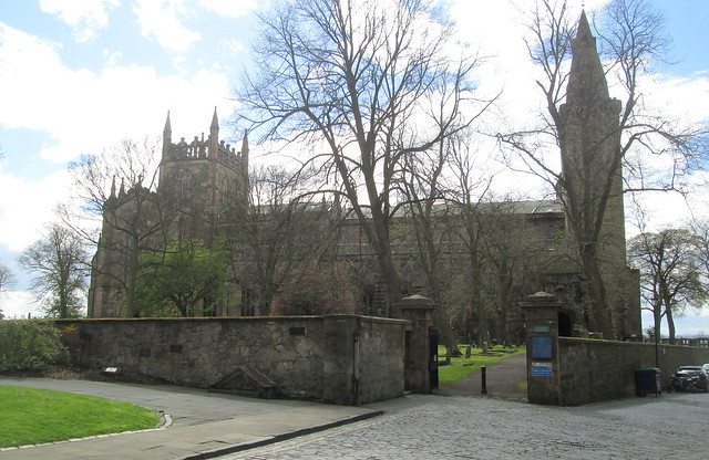 Dunfermline Abbey Church from North