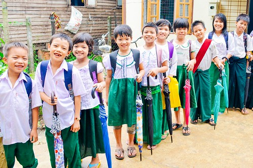 Myanmar team ready for rainy season; back-to-school preparations underway for 125 students