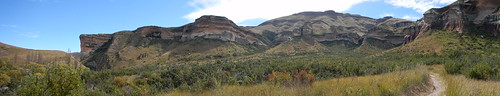 Panorama of Golden Gate Highlands