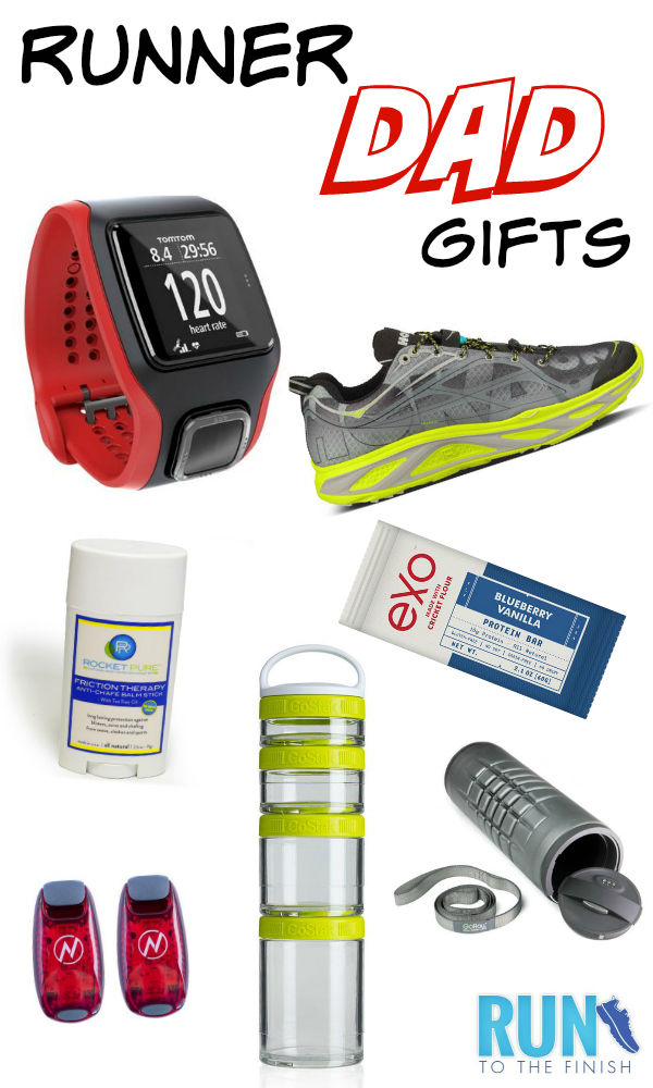 running gifts for dad