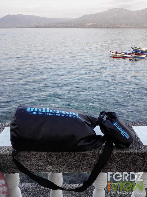The aquaventure dry bag at Mantalip Reef station