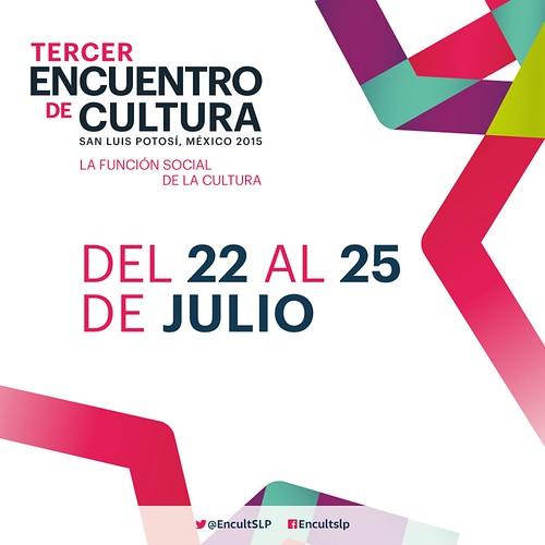 Ponentes de todo el país interesados en participar en el III Encuentro de Cultura SLP 2015