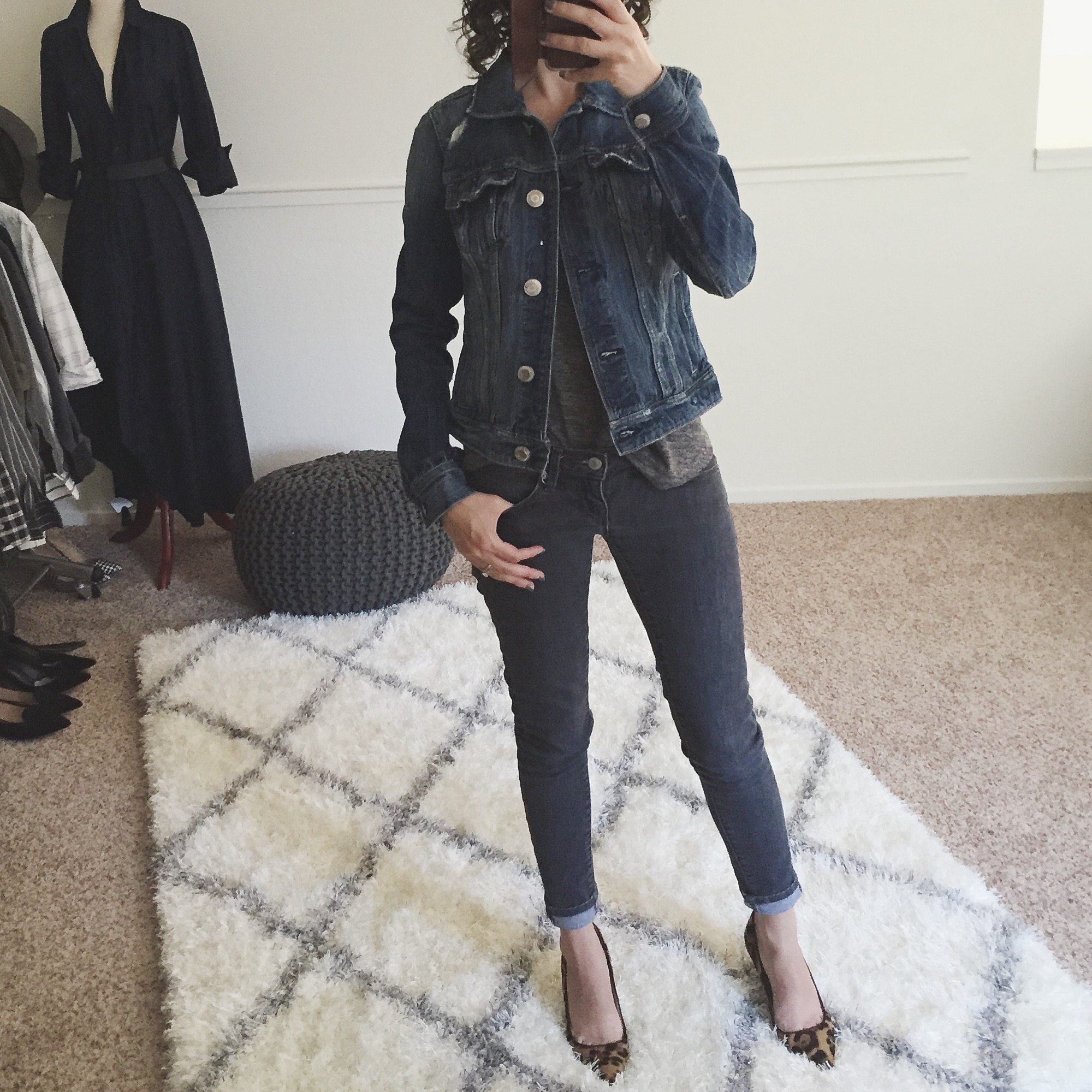 Review petite Denim Jacket