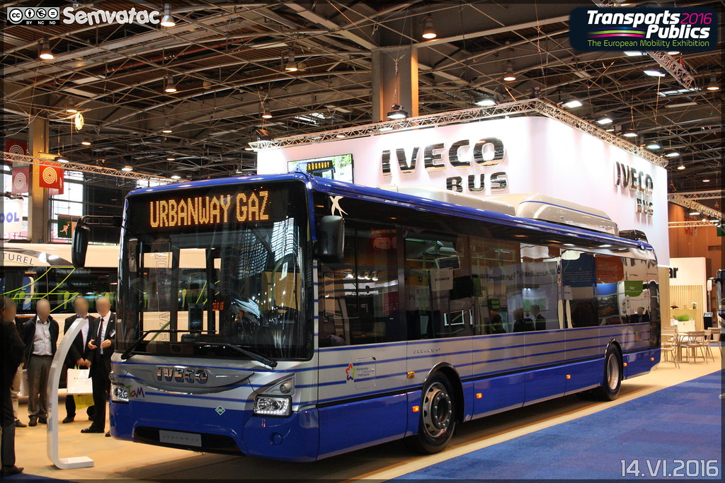 iveco bus urbanway 12 gnc tam montpellier 3m transports flickr. Black Bedroom Furniture Sets. Home Design Ideas