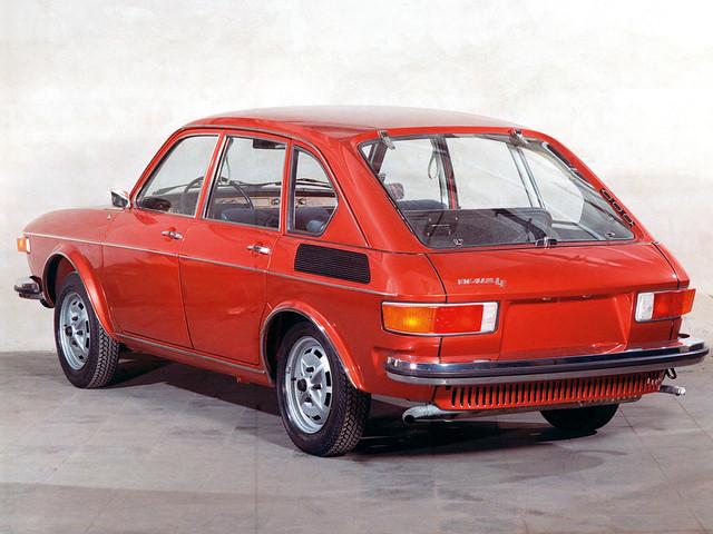 Volkswagen 412 Sedan. 1972 – 1974 годы