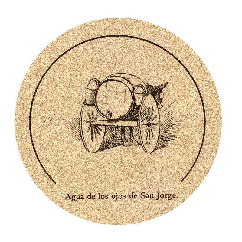 agua de los ojos de san jorge