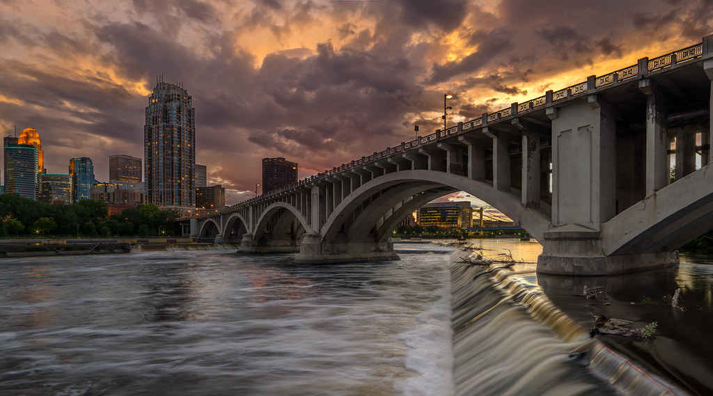 St. Anthony Falls (Minneapolis) | This is the shot I ...