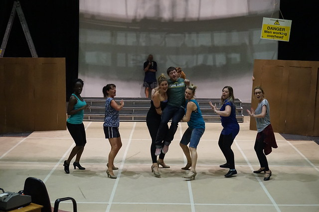 Rehearsals The Producers May 2015