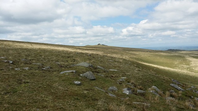 Heading for West Mill Tor #sh