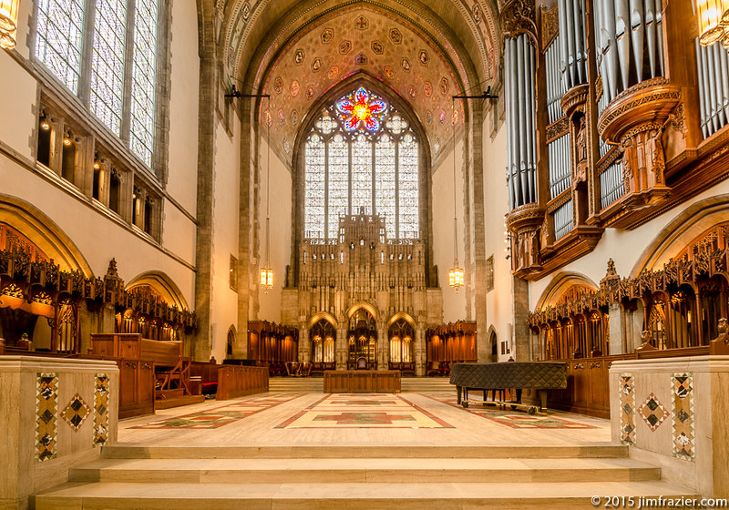 Rockefeller Chapel - Chancel