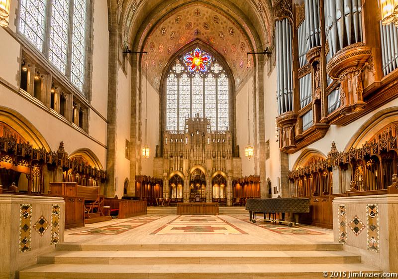 Rockefeller Chapel - Chancel