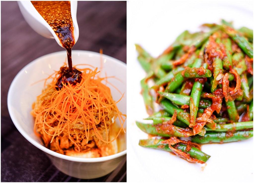 Pagi酸痛印尼餐厅塔胡特罗炒长豆配白拉干辣椒