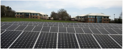 A 1.6 Megawatt solar farm at the George Washington Carver Center