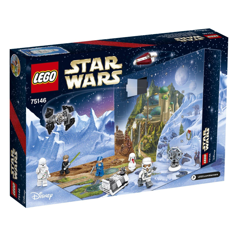 Лего звездные войны новогодний календарь