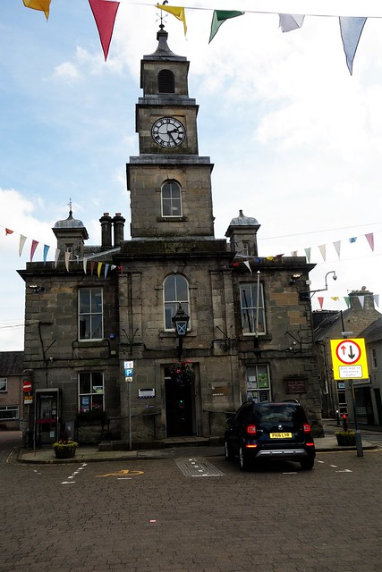 Town Hall, Langholm, Scottish Borders.