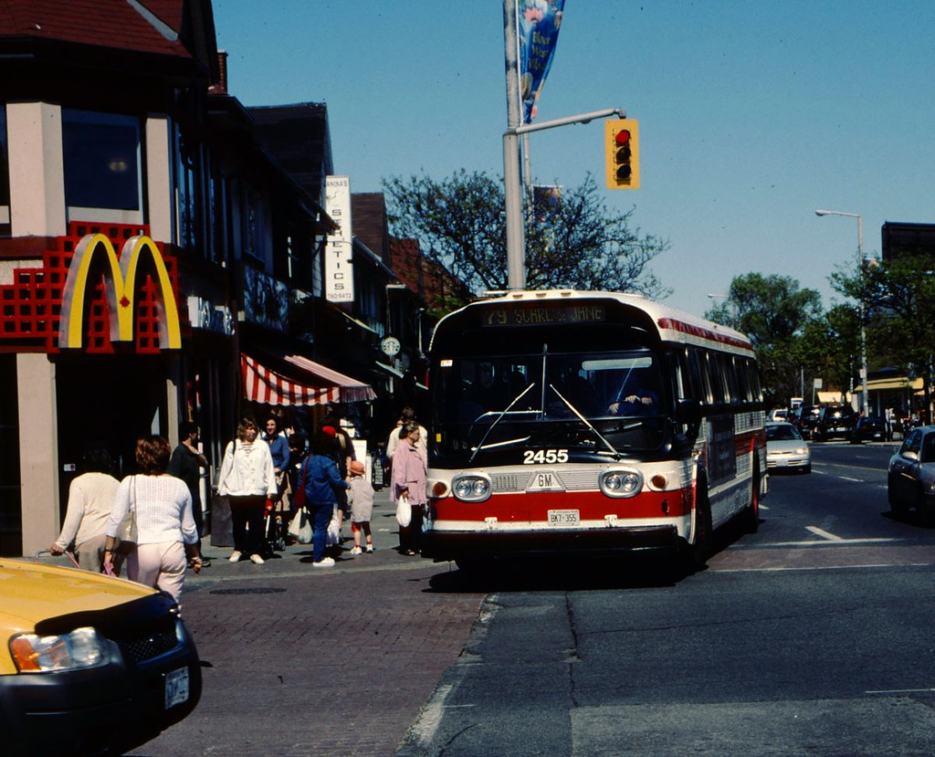 ... TTC GM New Look 2455 Scarlett bus | by bishop71701