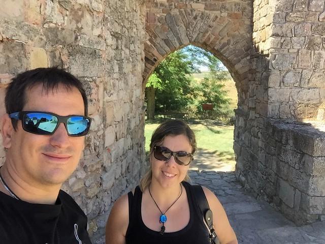 Rebeca y Sele en Medinaceli (Soria)