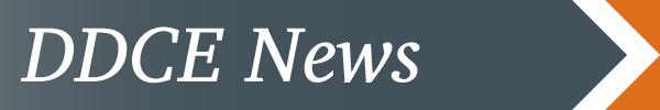 DDCE News banner