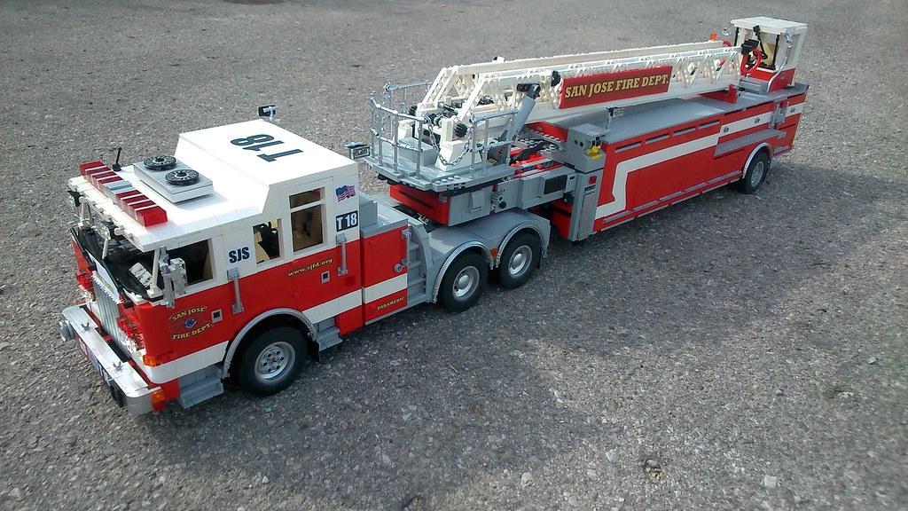 Moc Pierce Arrow Xt Quot Tiller Truck Quot San Jose Fire