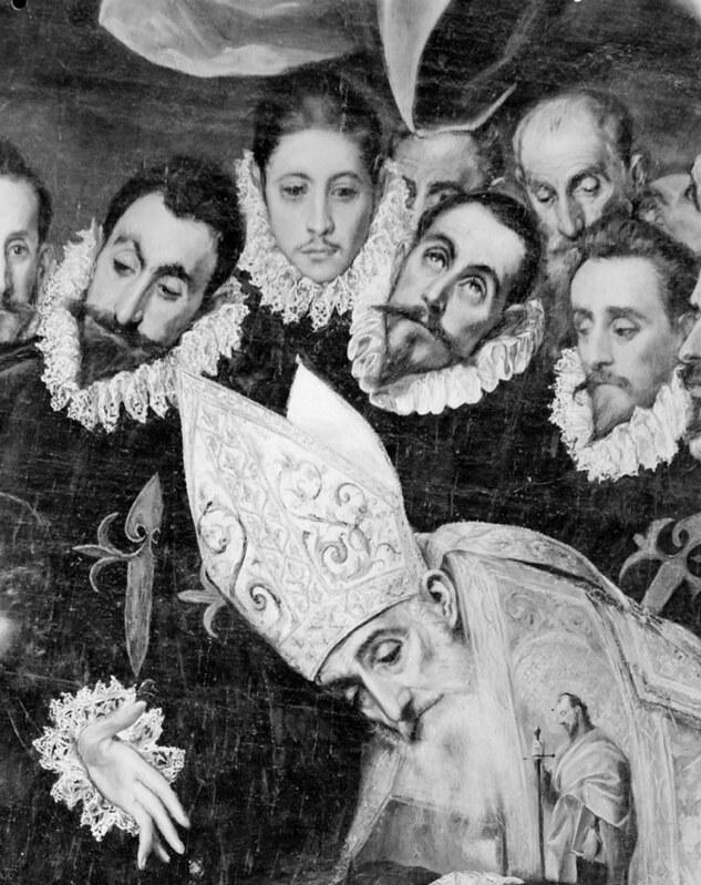 El Entierro del Señor de Orgaz fotografiado por Evelyn Hofer en los años 50 © Evelyn Hofer