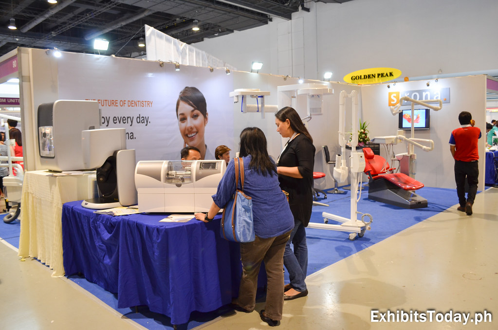 Sirona Exhibit Booth