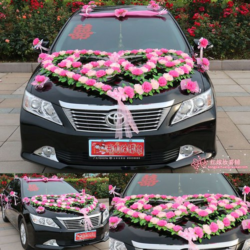 How To Decorate A Wedding Car