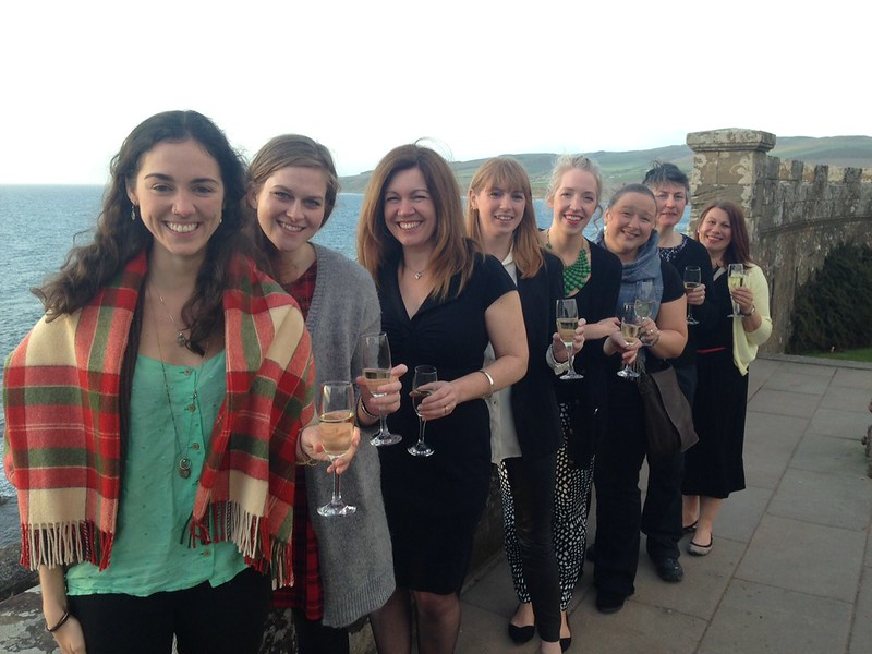 The group at Culzean Castle