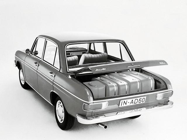Багажный отсек Audi 60. 1969 – 1973 годы производства