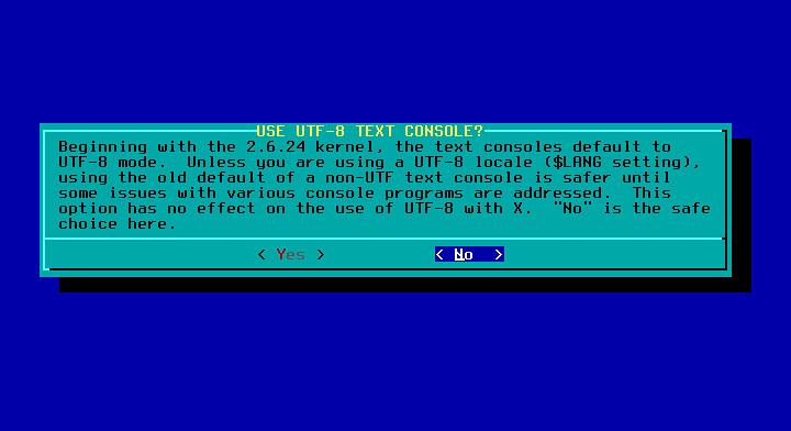 Slackware UTF-8