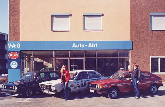 ABT Volkswagen Scirocco 1974 - 1981 годов выпуска