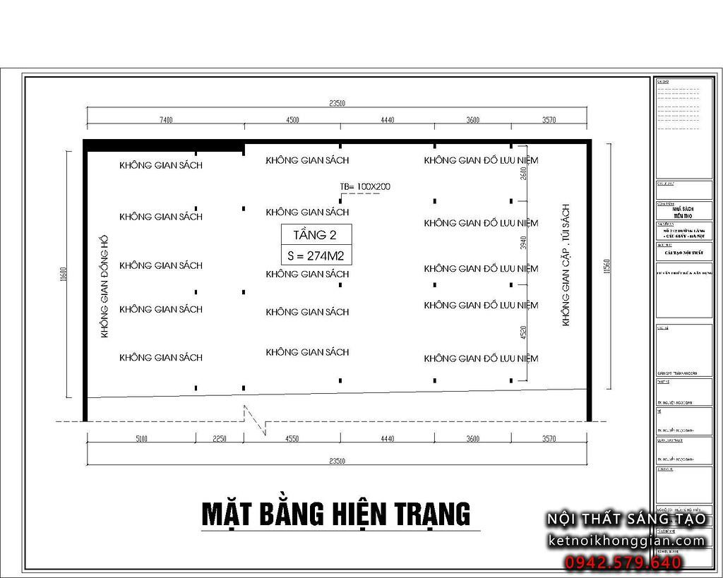 thiết kế nhà sách đẹp và chuyên nghiệp hàng đầu Việt Nam