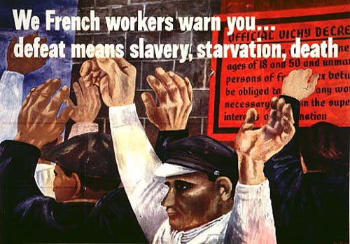 World War II Poster - French Workers