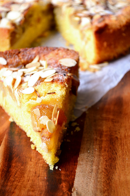 Recipe for Pear and Almond Cake