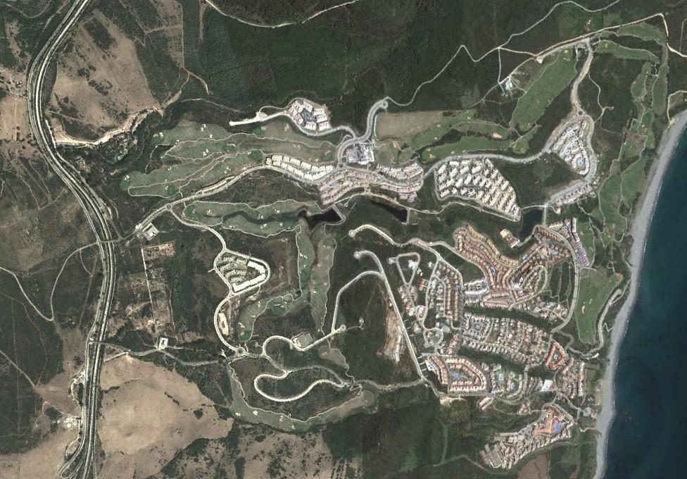 alcaidesa club de golf, cádiz, satanesa, después, urbanismo, planeamiento, urbano, desastre, urbanístico, construcción, rotondas, carretera