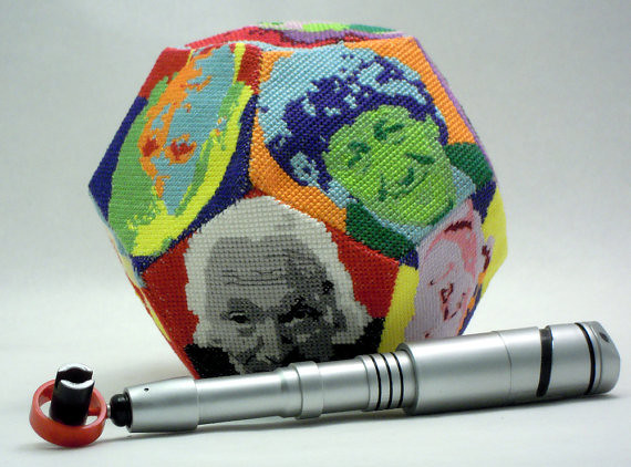 Doctor Who 3D cross stitch patterns by Robins Design